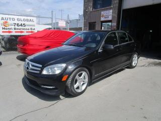 Used 2011 Mercedes-Benz C-Class C 300 4MATIC CUIR, MAGS TOIT OUVRANT for sale in Montréal, QC