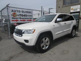 Used 2011 Jeep Grand Cherokee AWD OVERLAND,GPS,TOI for sale in Sherbrooke, QC