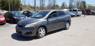 Used 2010 Toyota Matrix 188k safetied we finance for sale in Madoc, ON