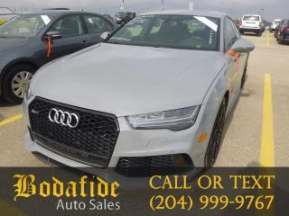 Used 2016 Audi RS 7 BASE for sale in Headingley, MB
