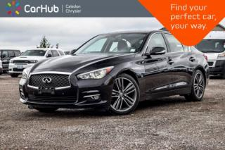 Used 2015 Infiniti Q50 AWD|Sunroof|Bluetooth|Backup Cam|Pwr windows|Pwr Locks|Push Start|17