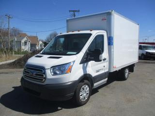 Used 2017 Ford Transit T-250 CUBE 12' PNBV de 9 000 lb DIESEL for sale in Terrebonne, QC