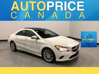 Used 2017 Mercedes-Benz CLA-Class 250 NAVIGATION|PANOROOF|LEATHER for sale in Mississauga, ON
