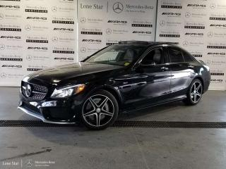 Used 2016 Mercedes-Benz C-Class C450 AMG 4MATIC Sedan for sale in Calgary, AB