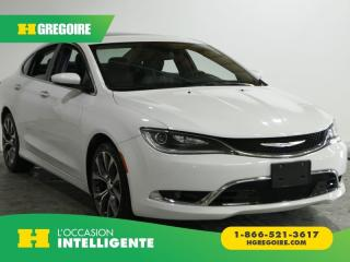Used 2016 Chrysler 200 C A/C CUIR TOIT PANO for sale in St-Léonard, QC