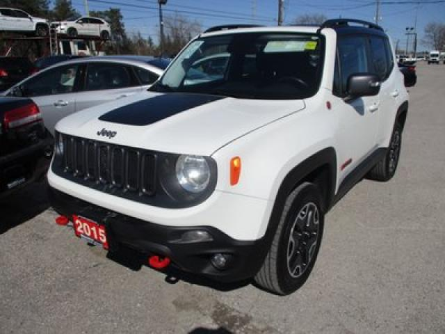 2015 Jeep Renegade 4X4 READY TRAILHAWK EDITION 5 PASSENGER 2.4L - DOHC.. HEATED SEATS.. BACK-UP CAMERA.. BLUETOOTH.. HEATED STEERING WHEEL..