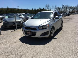 Used 2014 Chevrolet Sonic LT Manual Sedan for sale in Newmarket, ON