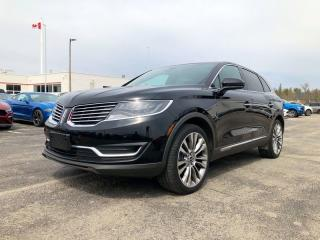 Used 2016 Lincoln MKX Reserve for sale in Orangeville, ON