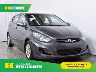 Used 2012 Hyundai Accent GL for sale in St-Léonard, QC