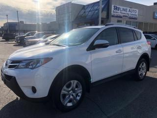 Used 2015 Toyota RAV4 LE 1 OWNER ACCIDENT FREE MINT CONDITION ALLOYS  for sale in Concord, ON
