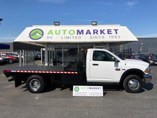 Used 2012 Dodge Ram 3500 LOADED SLT! 4WD DRW FLATDECK for sale in Langley, BC