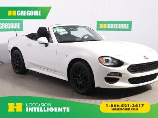 Used 2017 Fiat 124 Spider CLASSICA A/C MAGS for sale in St-Léonard, QC