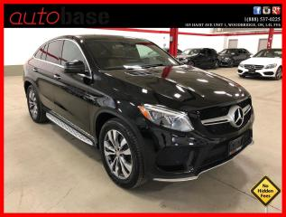 Used 2016 Mercedes-Benz GLE GLE350D COUPE PREMIUM CLEAN CARFAX! 350D for sale in Vaughan, ON