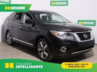 Used 2014 Nissan Pathfinder Platinum Awd Cuir for sale in St-Léonard, QC