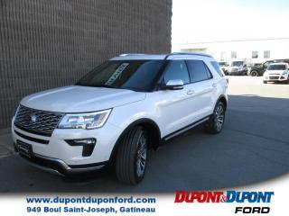 Used 2018 Ford Explorer Platinum 4 RM for sale in Gatineau, QC