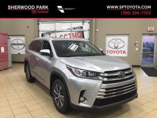 New 2019 Toyota Highlander XLE for sale in Sherwood Park, AB