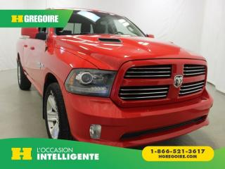 Used 2016 RAM 1500 SPORT QUAD-CAB 4X4 for sale in St-Léonard, QC