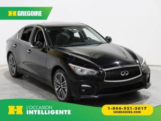 Used 2014 Infiniti Q50 SPORT AWD GR ELECT for sale in St-Léonard, QC