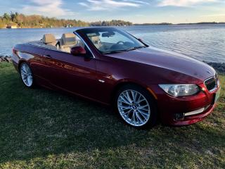 Used 2011 BMW 3 Series 335i Convertible ONLY 41500 km for sale in Perth, ON