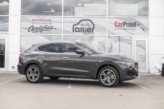 Used 2017 Maserati Levante LUXURY ***JAMAIS ACCIDENTE*** for sale in Québec, QC