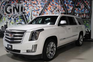 Used 2018 Cadillac Escalade ESV PLATINUM heads up display- Bose- Htd+Cool massage for sale in Concord, ON