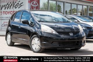 Used 2009 Honda Fit LX for sale in Pointe-Claire, QC