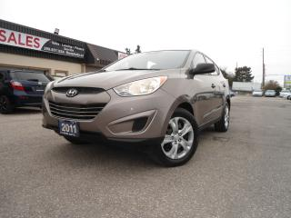 Used 2011 Hyundai Tucson AUTO SAFETY NO ACCIDENT A/C PW PL PM B-TOOTH for sale in Oakville, ON