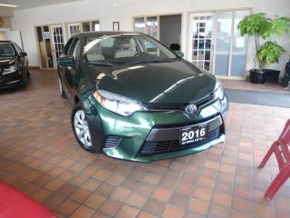 Used 2016 Toyota Corolla LE LOW KM NO ACCIDENT 1 OWNER B-TOOTH PW PL CRUISE for sale in Oakville, ON