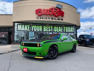 Used 2017 Dodge Challenger Scat Pack+T/A PKG+NAV+SUNROOF+ONE OWNER+MORE for sale in Toronto, ON