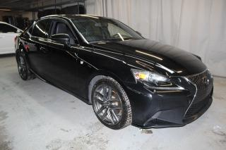 Used 2014 Lexus IS 250 traction intégrale (TOIT,NAV,CUIR) for sale in St-Constant, QC