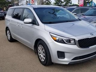 Used 2016 Kia Sedona L; 7 PASS, CRUISE CONTROL, AIR CONDITIONING AND MORE for sale in Edmonton, AB