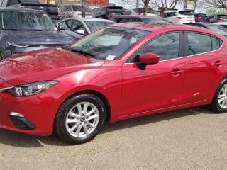 Used 2016 Mazda MAZDA3 GS; NAV, BACKUP CAM, BLUETOOTH, HEATED SEATS, SUNROOF AND MORE for sale in Edmonton, AB