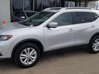 Used 2015 Nissan Rogue SV; NAV, BLUETOOTH, BACKUP CAM, HEATED SEATS, SUNROOF AND MORE for sale in Edmonton, AB