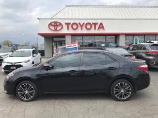 Used 2014 Toyota Corolla S upgrade alloys moonroof fog lights for sale in Cambridge, ON
