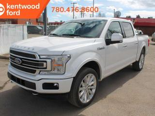 New 2019 Ford F-150 Limited 900A 3.5L V6 Ecoboost 4X4, Power Heated/Ventilated Seats, Premium Leather Seats, Auto Start/Stop, Navigation, Remote Keyless Entry, Remote Vehicle Start, Reverse Camera System, Pre-Collisin Assist, Trailer Tow Pkg for sale in Edmonton, AB
