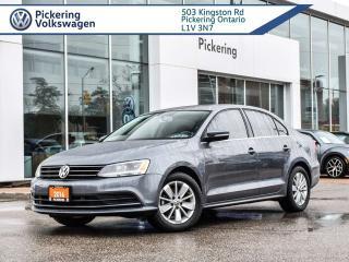 Used 2016 Volkswagen Jetta Sedan TRENDLINE + MT!! for sale in Pickering, ON