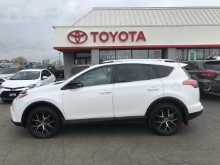 Used 2016 Toyota RAV4 se TECH LEATHER ROOF NAVIGATION AWD for sale in Cambridge, ON
