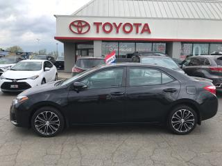 Used 2016 Toyota Corolla S upgrade moonroof alloys fog lights for sale in Cambridge, ON
