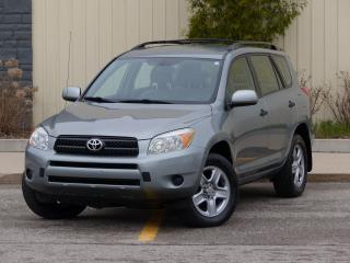 Used 2008 Toyota RAV4 4WD, ONE-OWNER, ALLOY WHEELS, PWR MIRRORS, LOADED for sale in Mississauga, ON