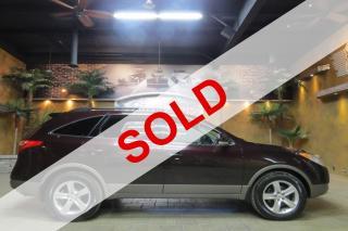 Used 2007 Hyundai Veracruz 4WD GLS - Htd Lthr, S.Roof, R.Start, B.Tooth!! for sale in Winnipeg, MB