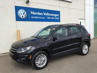 Used 2016 Volkswagen Tiguan SPECIAL EDITION 4MOTION AWD - VW CERTIFIED / HEATED SEATS! for sale in Edmonton, AB