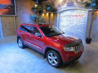 Used 2011 Jeep Grand Cherokee Overland - Hemi, DVD, Nav, S.Roof, Htd Lthr! for sale in Winnipeg, MB