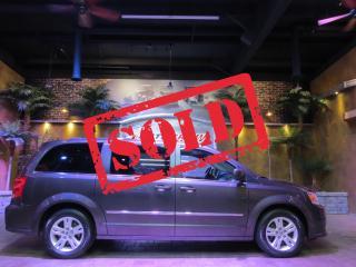 Used 2016 Dodge Grand Caravan Crew - DVD, Nav, Htd Steering & Lthr!! for sale in Winnipeg, MB