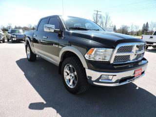 Used 2010 Dodge Ram 1500 Laramie. Navigation. Sunroof. Leather. Loaded for sale in Gorrie, ON