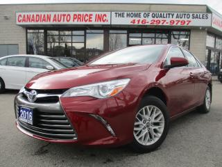 Used 2016 Toyota Camry LE-BACK UP CAMERA-BLUETOOTH-TOUCH BUTTON SCREEN-HE for sale in Scarborough, ON