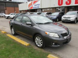 Used 2009 Toyota Corolla LE ~ LOW KM ~ LOADED for sale in Toronto, ON
