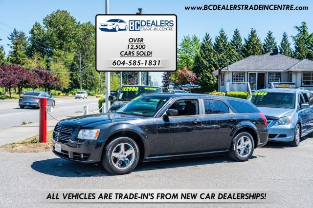2008 Dodge Magnum SXT Wagon, V6, Exhaust, Chrome Alloys, Black!