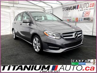 Used 2015 Mercedes-Benz B-Class 4Matic+AWD+Camera+GPS+Pano Roof+Blind Spot+Leather for sale in London, ON