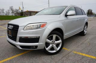 Used 2008 Audi Q7 S-LINE / CLEAN CARPROOF / LOCALLY OWNED / 4.2 for sale in Etobicoke, ON