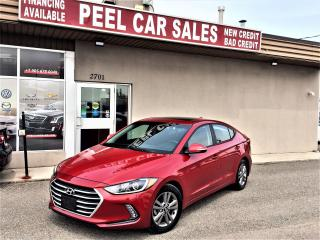 Used 2018 Hyundai Elantra GL SE|SUNROOF|CARPLAY|REARVIEW| for sale in Mississauga, ON